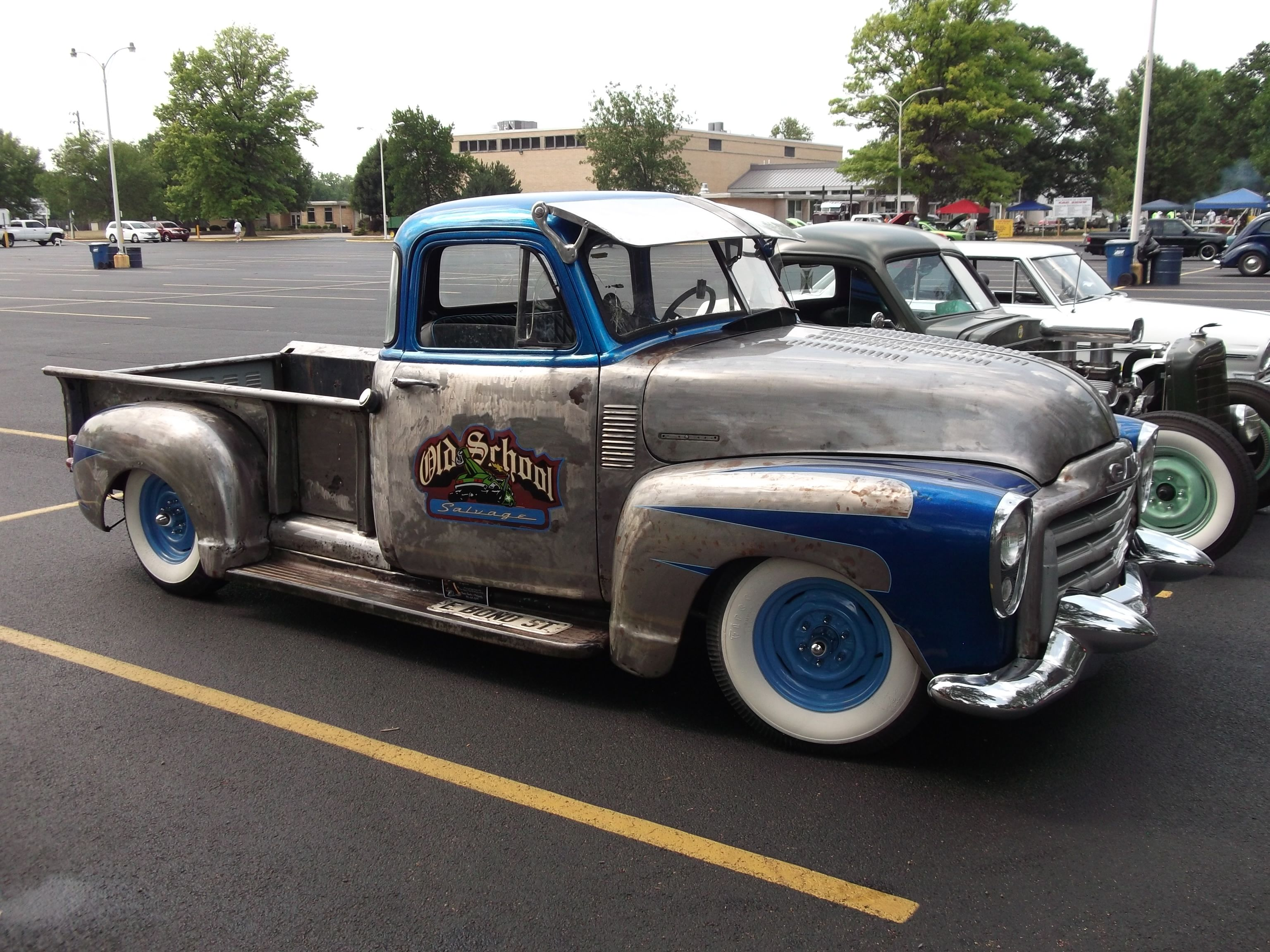 1955 chevrolet hot rod truck pictures to pin on pinterest - 1953 Gmc Rat Rod Truck I Want An Old Truck As A Tow Rig For