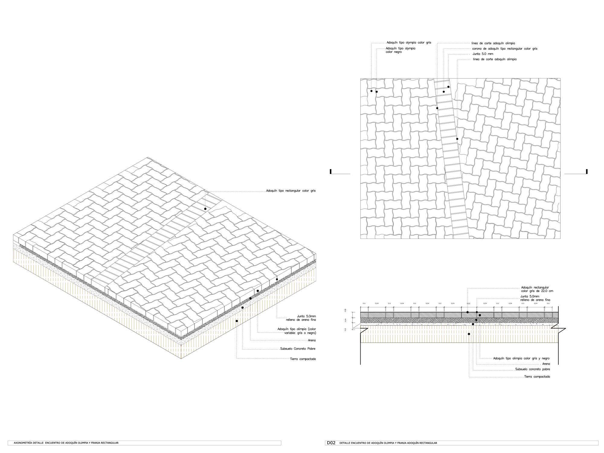 Galería de En Detalle: Pavimento y Drenaje del Bulevar
