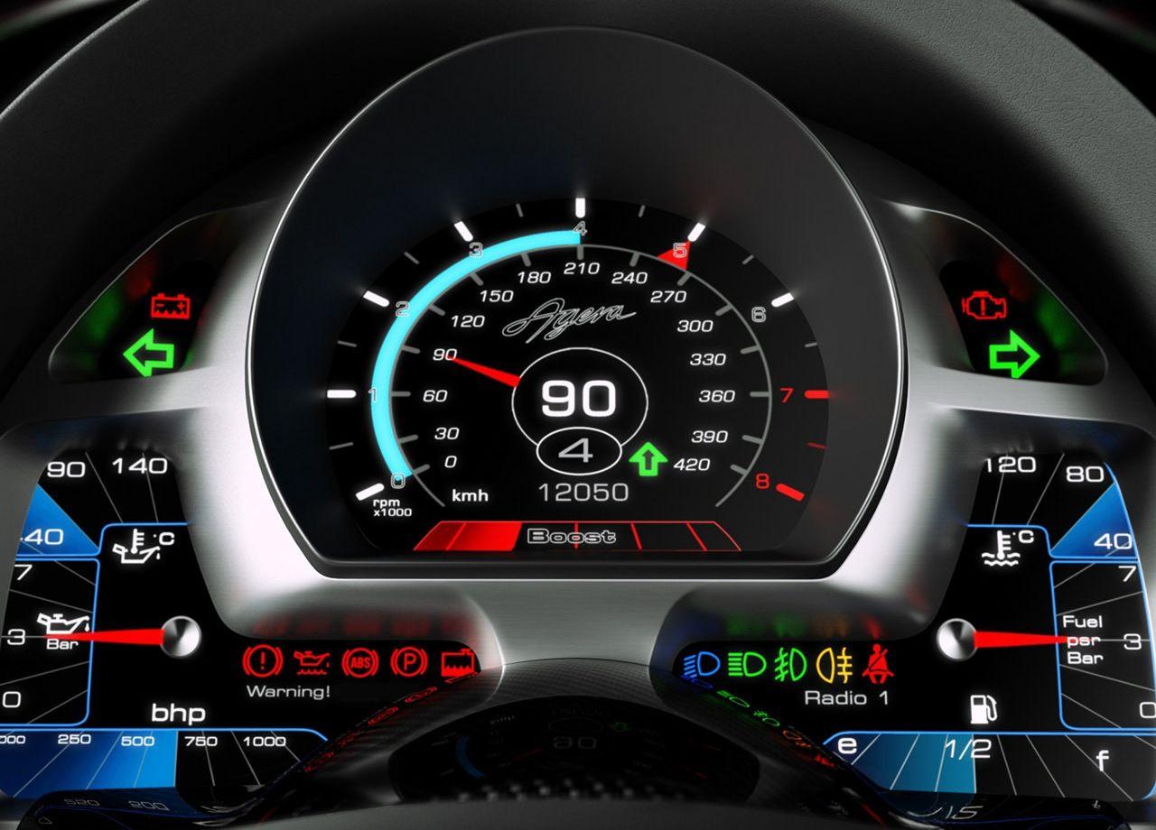 Koenigsegg koenigsegg agera r interior : Koenigsegg Agera Dash | Just Pretty Car Stuff | Pinterest | Cars ...