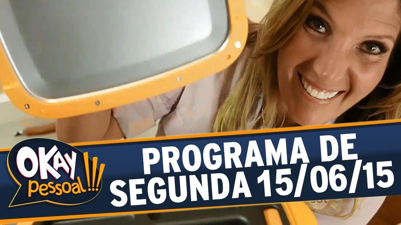 Okay Pessoal!!! Lucilia Diniz | Barrinha de Cereal Caseira | 15/06/2015