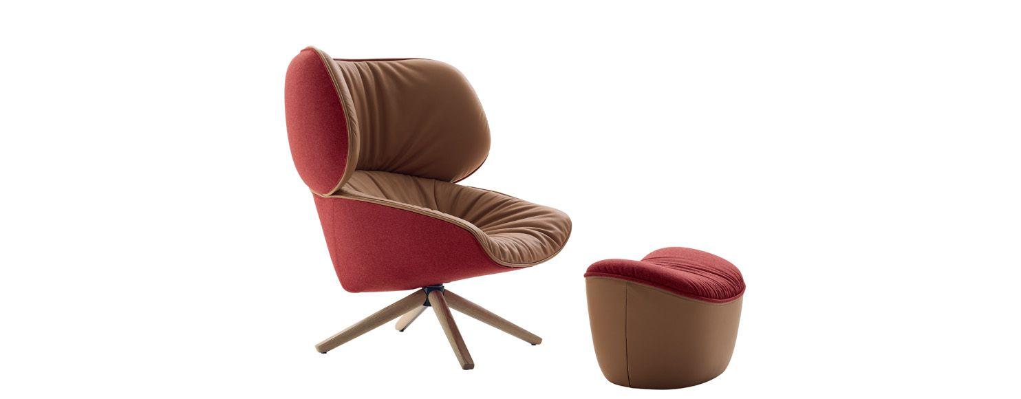 Tabano Armchair Italia Design B B Italia