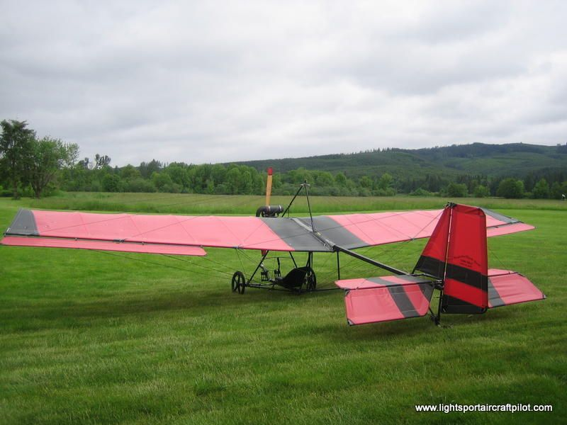 B1RD ultralight, Robertson B1-RD ultra lite aircraft B1RD single