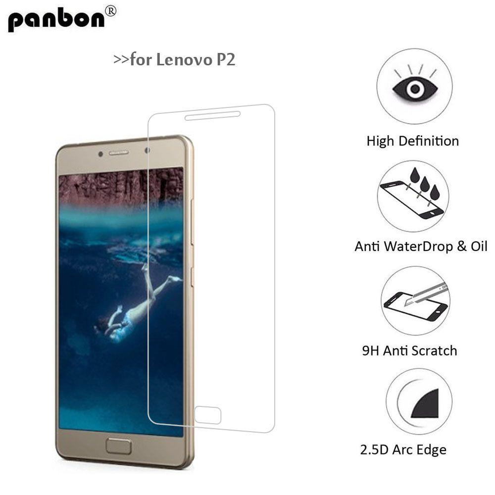 Panbon Premium Protective Glass For Lenovo P2 Screen Protector Vibe Tempered Full Cover Xiaomi Mi5s White Toughened Film