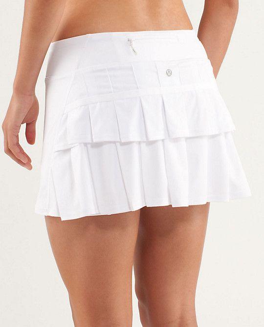 Pacesetter Skirt Lululemon Lululemon Outfits Tennis Skirt Outfit Running Skirts