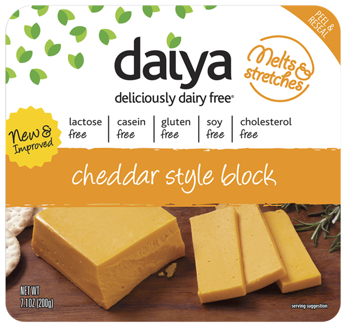 Daiya Foods Dairy Free Lactose Free Cheese Lactose Free