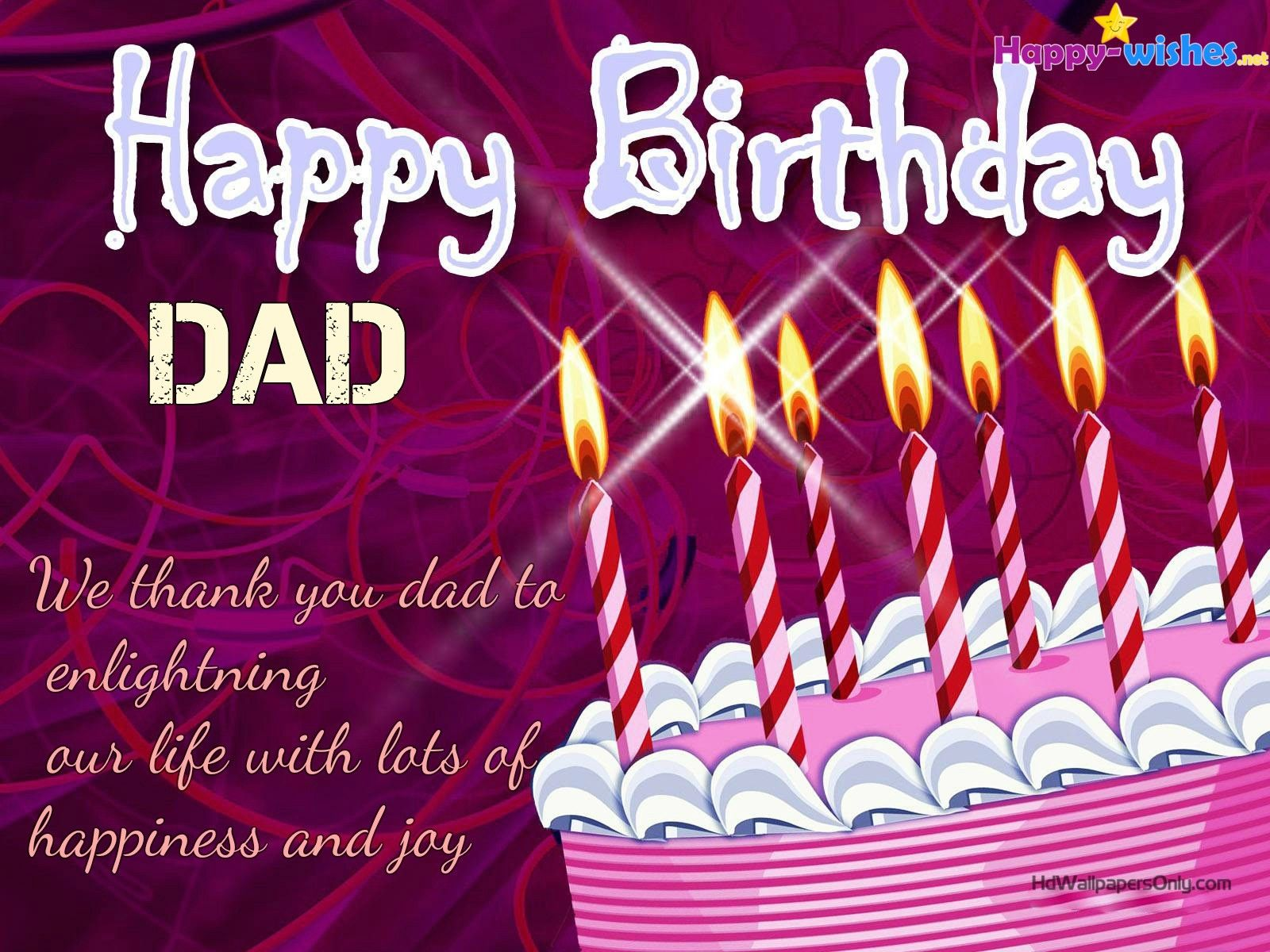 Happy birthday quotes for dad birthday cakes pinterest happy birthday quotes for dad birthday greeting messagebirthday kristyandbryce Gallery