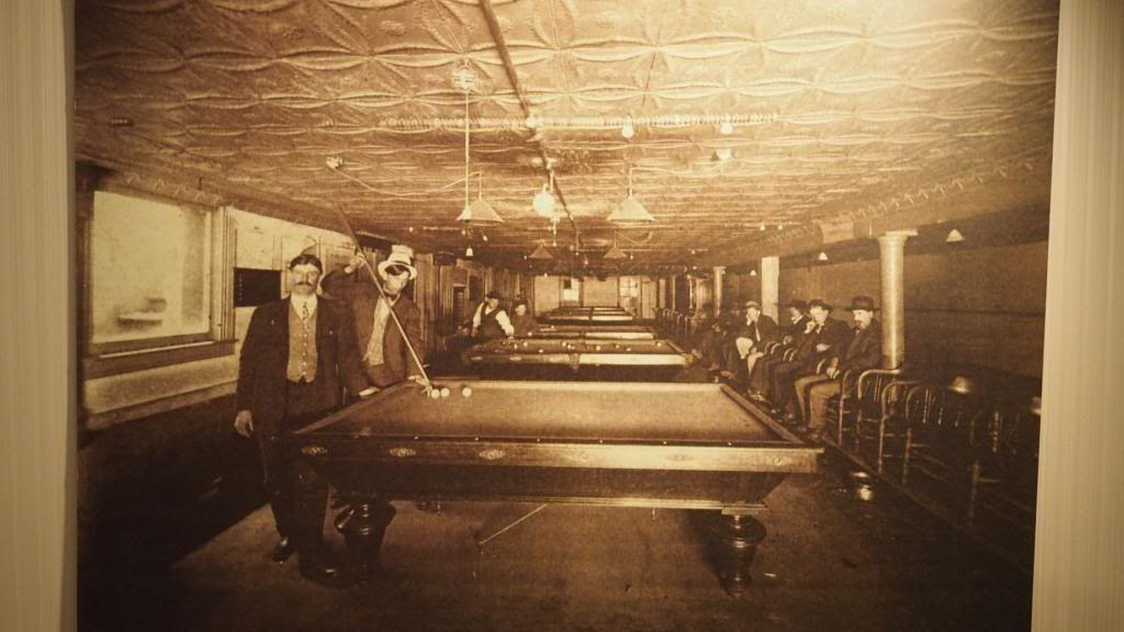 From 1870 through 1930 underground tunnels were