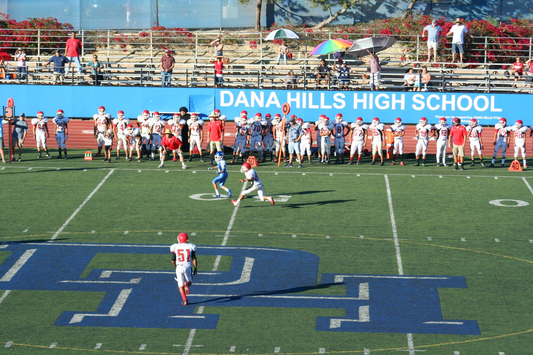 Dana Hills High School Football High School Football High School School
