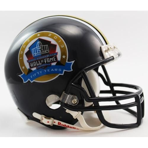 484290c6887 Pro Football Hall of Fame 50th Anniversary Mini Helmet -  27.99 ...