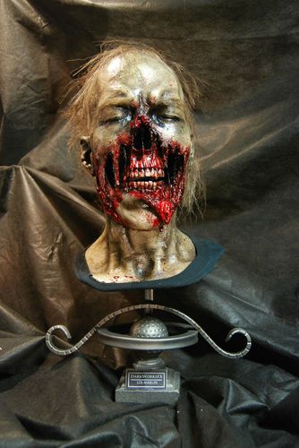 walking dead zombie bust corpse halloween horror life size prop - Zombies Pictures For Halloween