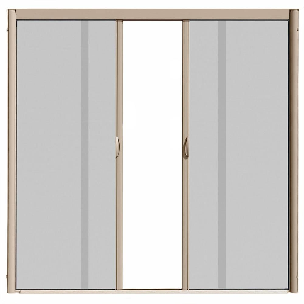 Visiscreen 72 In X 100 In Vs1 Desert Tan Retractable Screen Door
