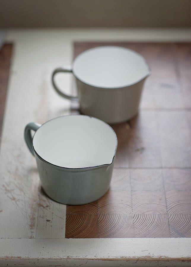 enamel jug by garden trading   notonthehighstreet.com