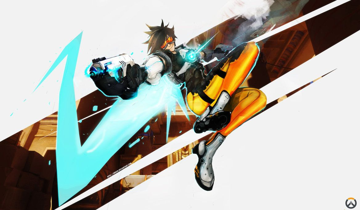 Google themes overwatch - Fan Art Of Blizzard S Upcoming Fps Really Love Her Design Tracer Overwatch