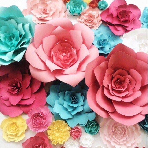 Paper flowers by PaperFlora #largepaperflowers