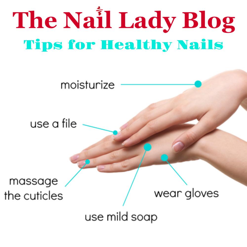 Nail health care tips