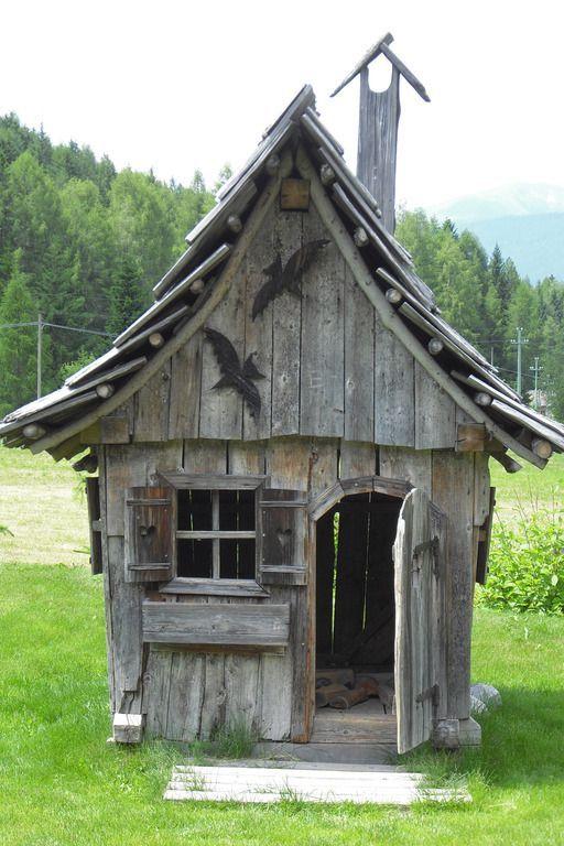 Hexenhauschen Fur Die Kleinsten Hexenhauschen Kinder Spielhaus Garten Haus