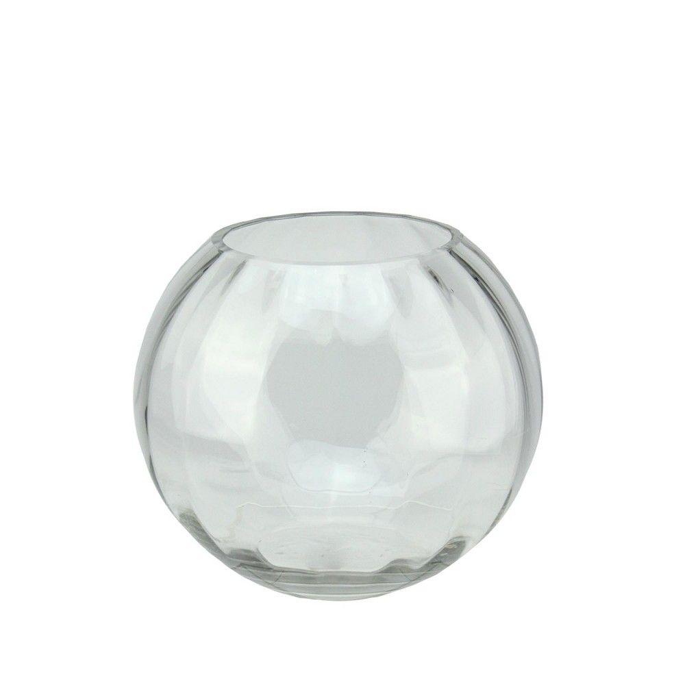 Northlight 8 75 Round Segmented Transparent Glass Decorative Bowl Clear Glass Votive Glass Bowl Decor Decorative Bowls
