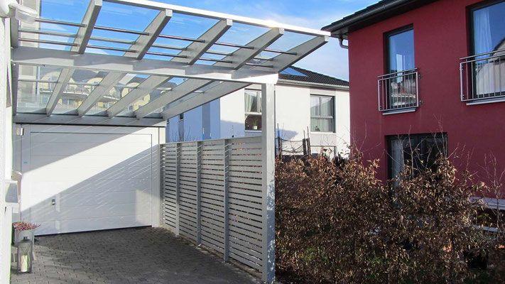 Glasdach Carport carport isoliergrund 5 liter glasdach seitenwand und nachbar