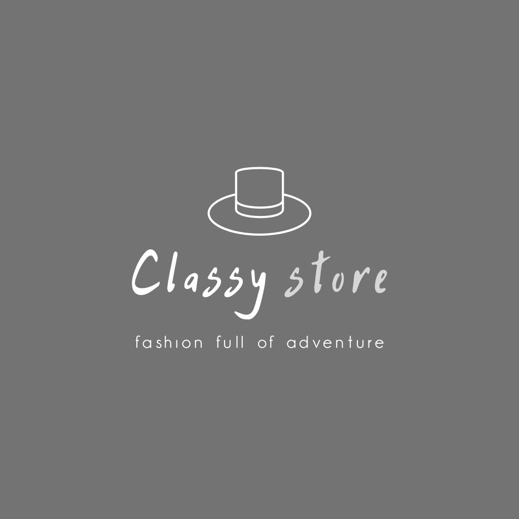 Fashion Full Of Adventure Classy Store Logo Boutique Logo Design Clothing Store Logo Online Store Design