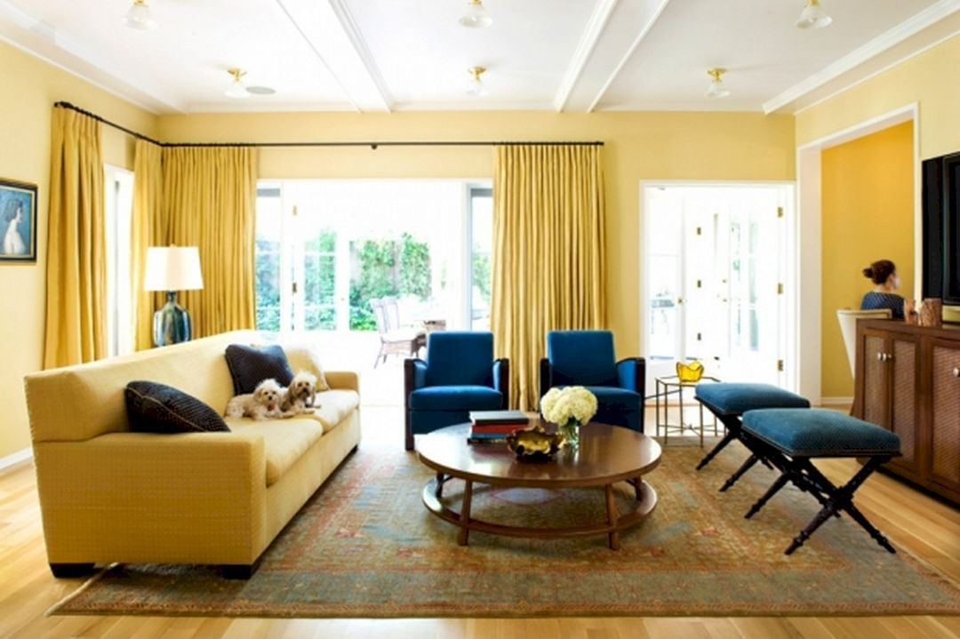 Navy Blue Yellow And Brown Living Room Navy Blue Yellow And Brown