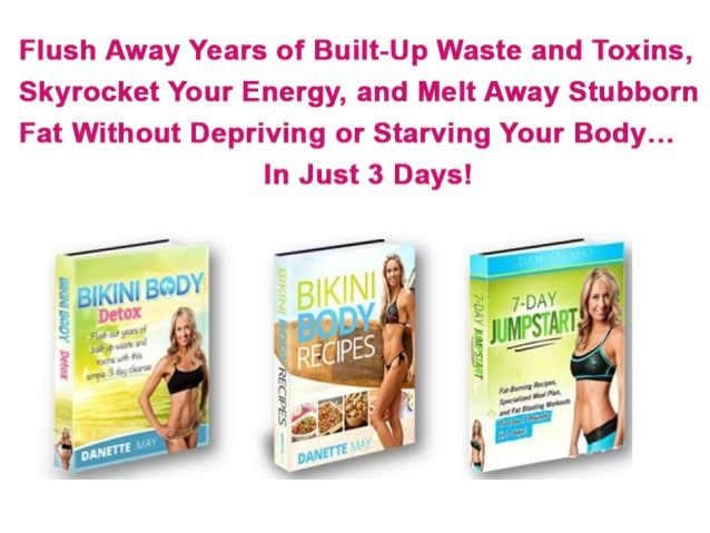 7 day bikini body diet plan