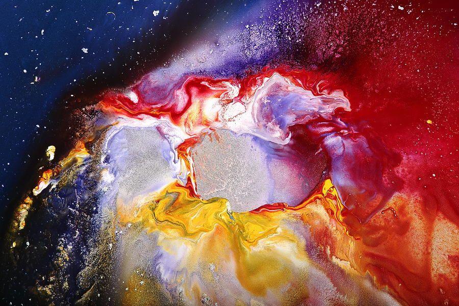 Dream Escape 2 - Modern Liquid Art by Serg Wiaderny