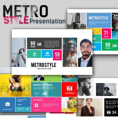 Metro style premium presentation powerpoint template metro style metro style premium presentation powerpoint template metro style keynote and template toneelgroepblik Image collections