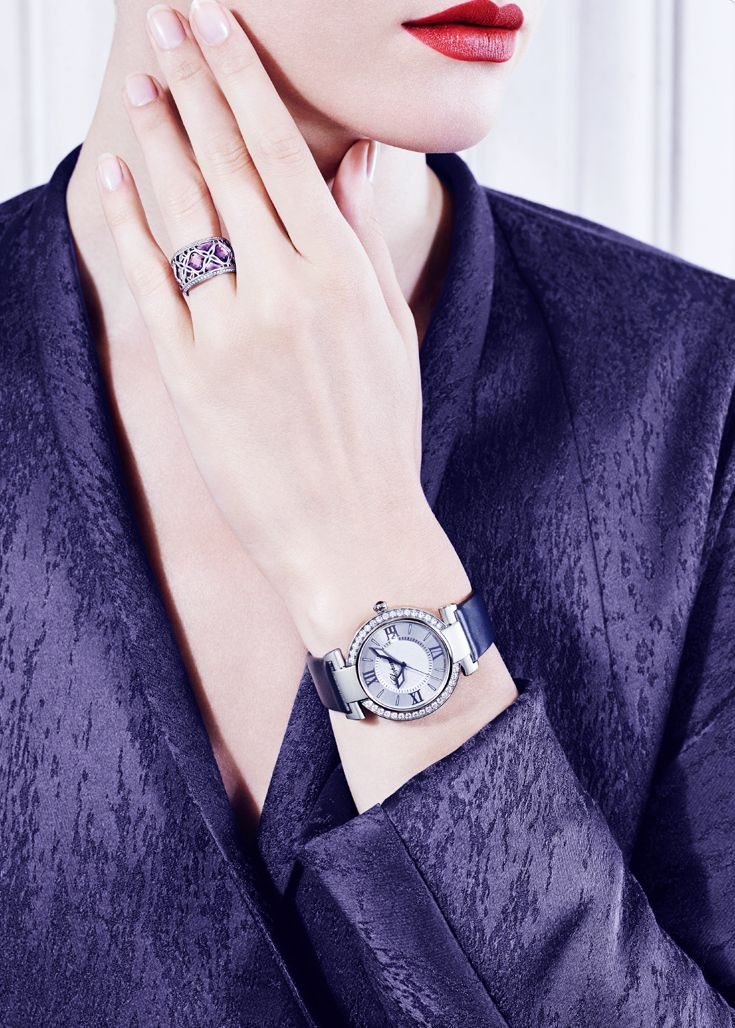 Success is key to true grace… #Chopard #IMPERIALE collection