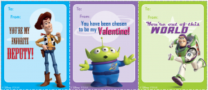 Free Download And Print Your Own Character Valentines Tangled Toy