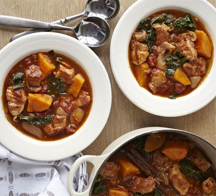 Jamaican style pork kale stew recipe recipes bbc good food jamaican style pork kale stew recipe recipes bbc good food forumfinder Image collections