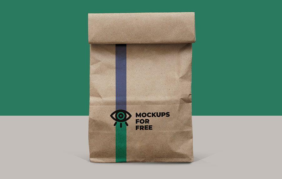 Download Free Paper Bag Mockup Bag Mockup Photoshop Mockup Free Business Card Mock Up