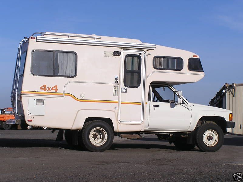 unusual tiny rvs. Image detail for  Here is one of those rare 4 Toyota motorhomes