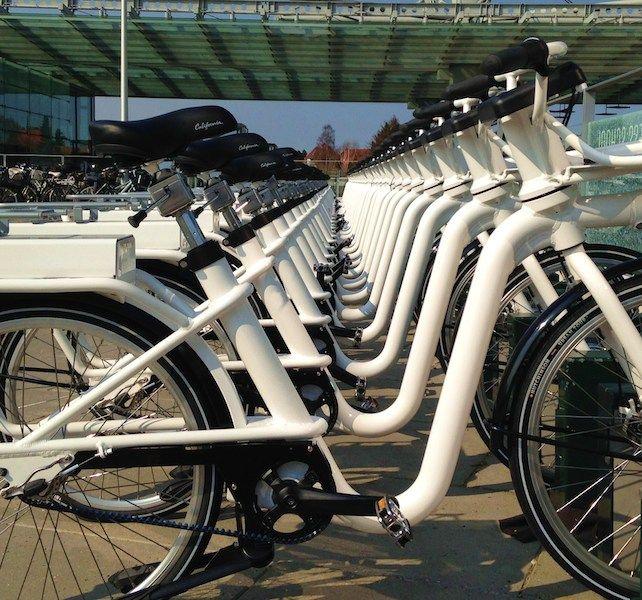 The Copenhagen Electric Bike Share Program Bycyklen Videos