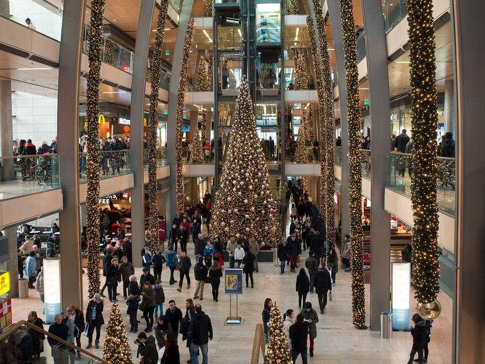 Торговый центр в Гамбурге
