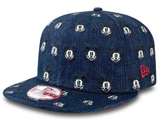 d73b0fe38fd All Over Mickey Mouse 9Fifty Snapback Cap by DISNEY x NEW ERA ...