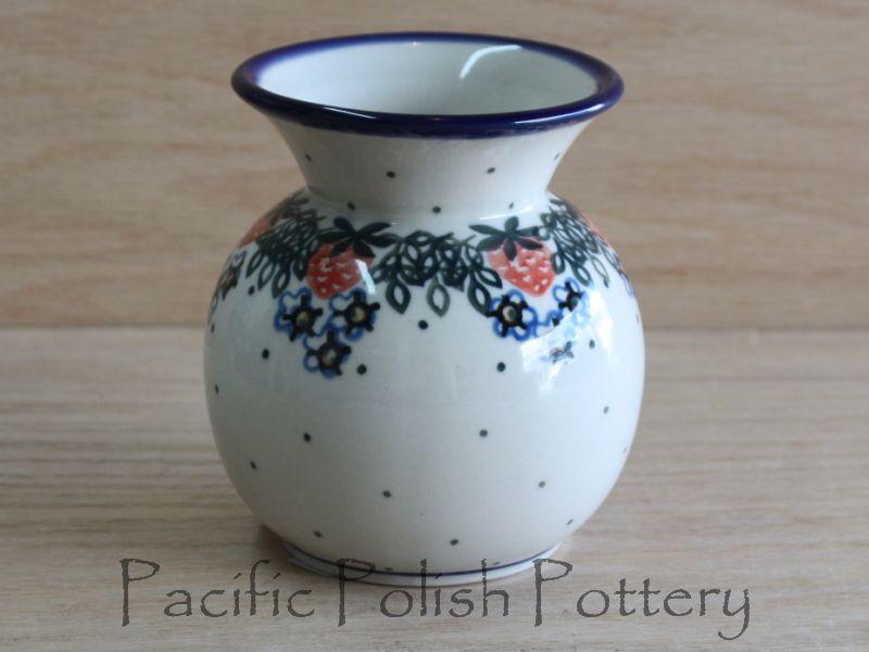 Polish Pottery Bubble Vase (Pattern 721)