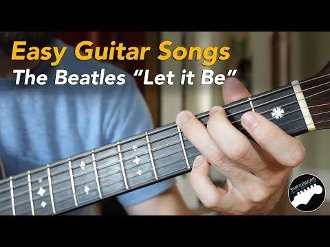 Easy Beginner Guitar Songs - The Beatles \