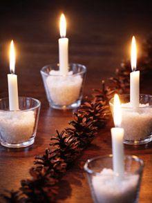 Joulukoristeita männynkävyistä – Kotiliesi