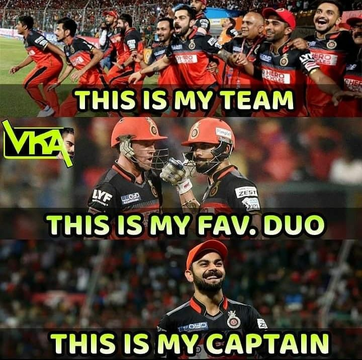 Team Forever Rcb Cricket Quotes Royal Challengers Bangalore Ab De Villiers