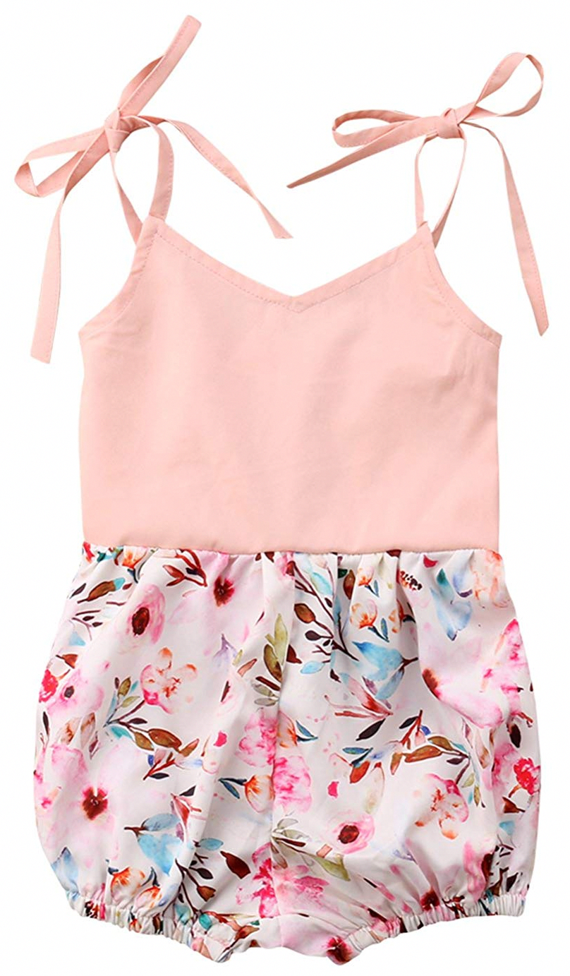 5781ae2689a49 SALE 50% OFF + FREE SHIPPING! SHOP Our Pastel Floral Romper for Baby ...