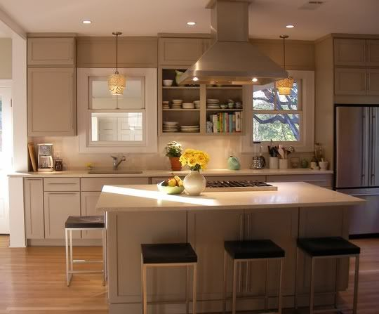 Tan Kitchen Cabinets. red and tan Kitchen Designs  This is more a gray but again lots