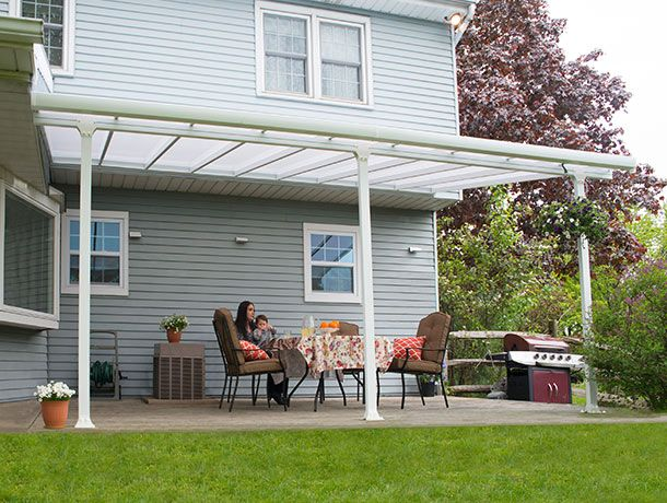 enjoy the outdoors year round with the palram feria patio cover