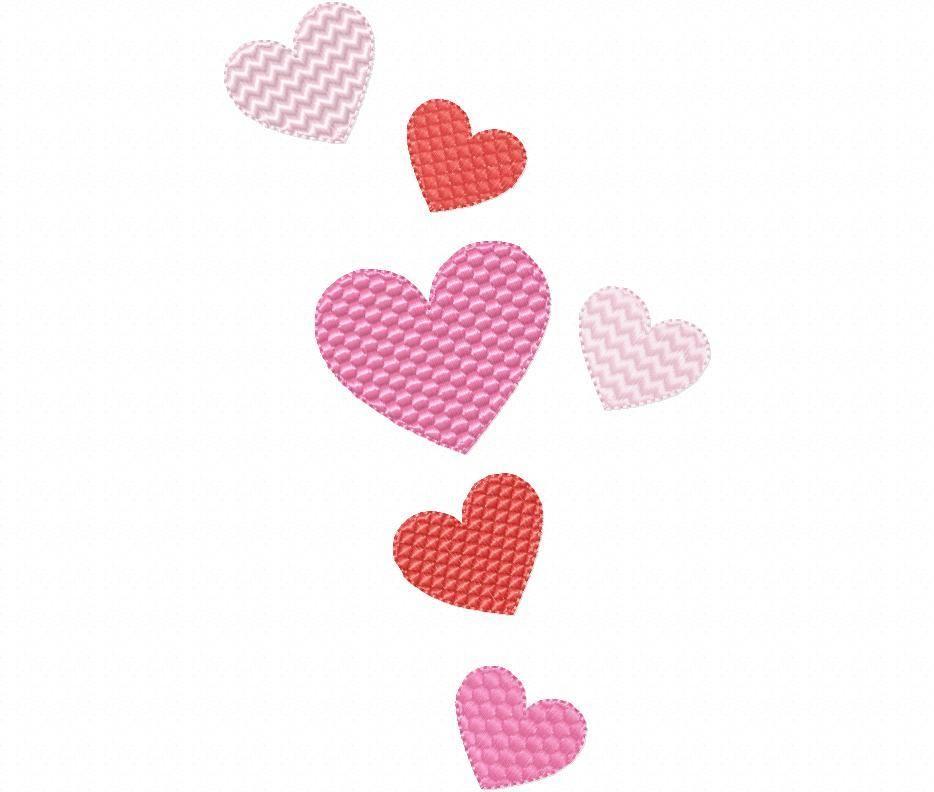 Multiple Hearts Valentine's Day Free Design 4X4, 5X7 & 6X10 Machine  Embroidery Design - Br… | Machine embroidery, Machine embroidery designs,  Embroidery design sets