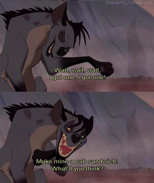 lion king hyenas