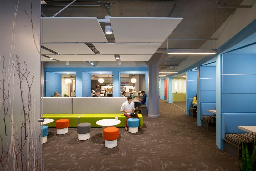 twitter's global headquarters in san francisco, CA by IA interior architects and lundberg design