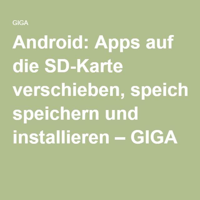 Android Apps Auf Sd Karte Verschieben.Android Apps Auf Sd Karte Verschieben Speichern Und