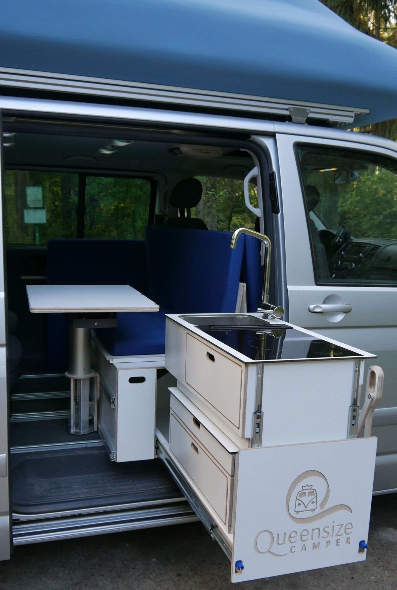 Camper Küchenblock Queensize Camper Kitchen Raised Position Queensize Camper