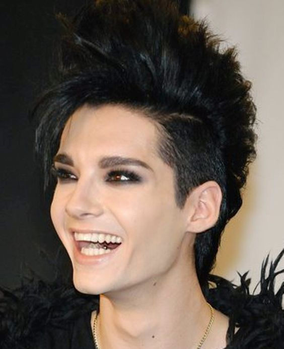 Bill Kaulitz Hairstyles Bill Kaulitz Haare Schwarz Farben Beliebteste Frisuren