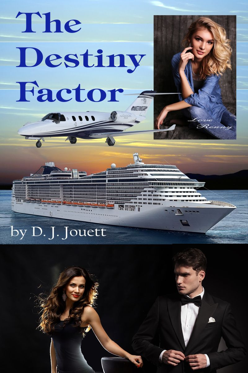 The Destiny Factor D. J Jouett is asecond-year law student and writer of several suspense/romance novels. She is here today to talk about her latest title The Destiny Factor, which has been nomin…