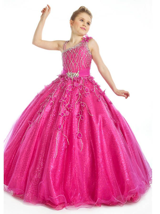 Princess Gowns for Teens   Girls Long Pageant Dresses   Rebekah ...